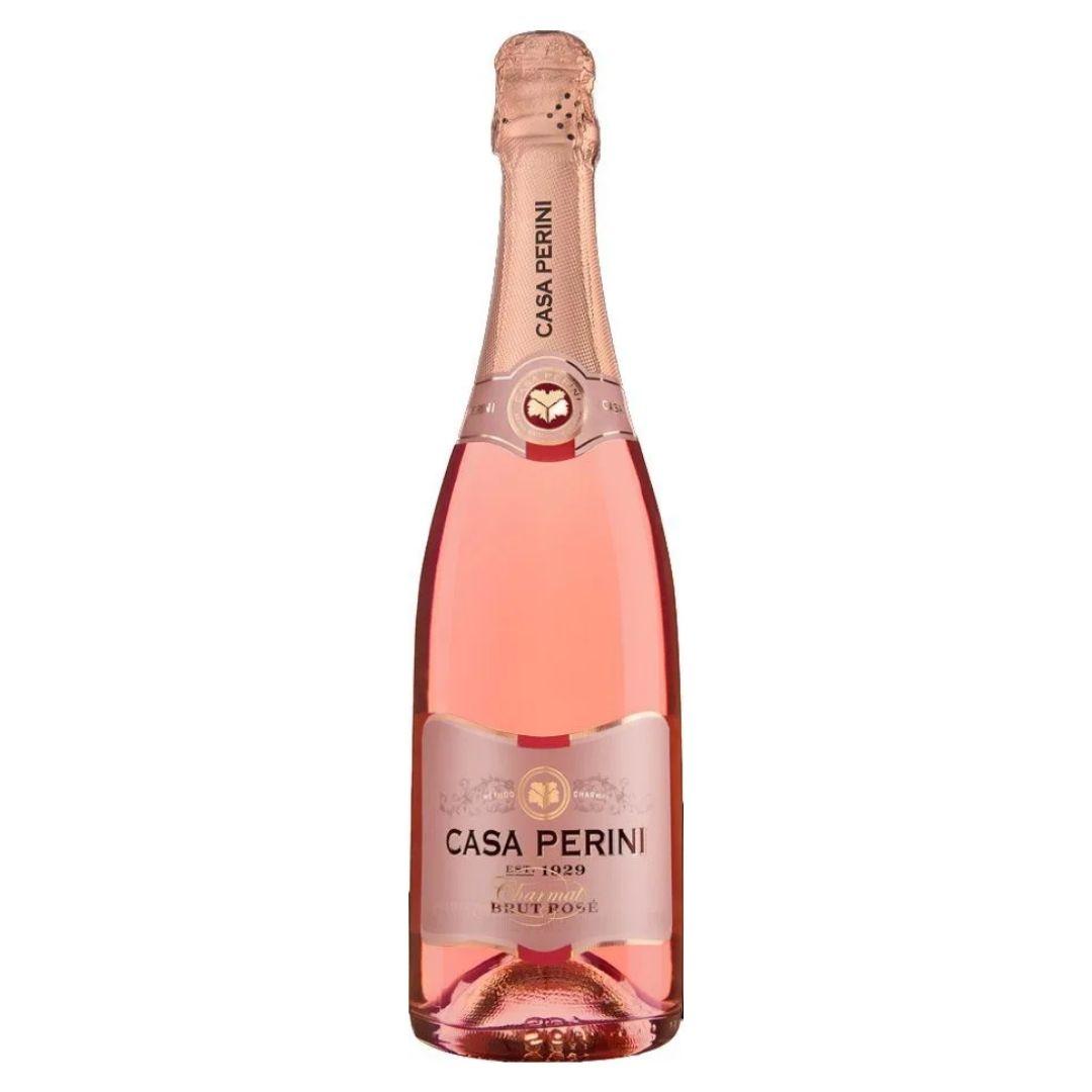 Vinho Espumante Rosé Casa Perini Charmat Brut - 750ml -