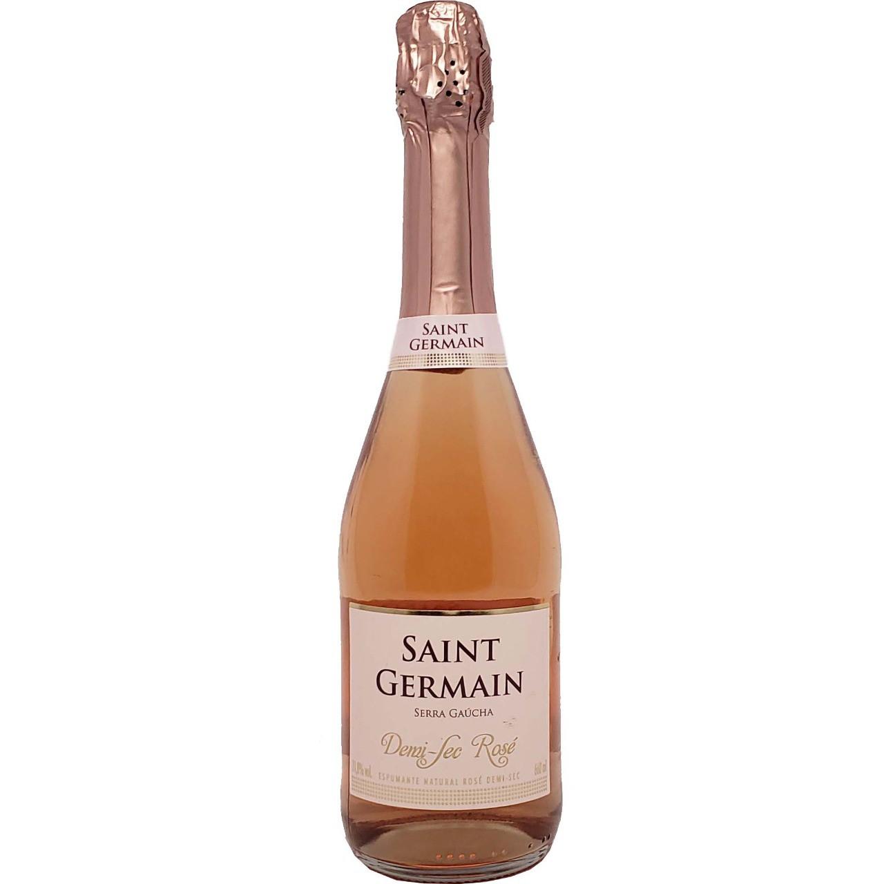 Vinho Espumante Rosé Demi Sec Saint Germain - 660ml -