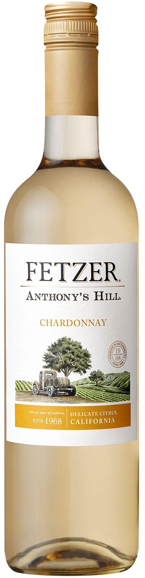 Vinho Branco Fetzer Anthony's Hill Chardonnay - 750 ml -
