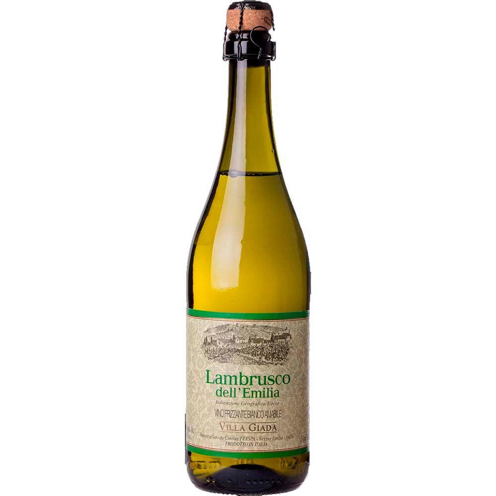 Vinho Frisante Lambrusco Branco Dell´Emilia Villa Giada - 750ml -
