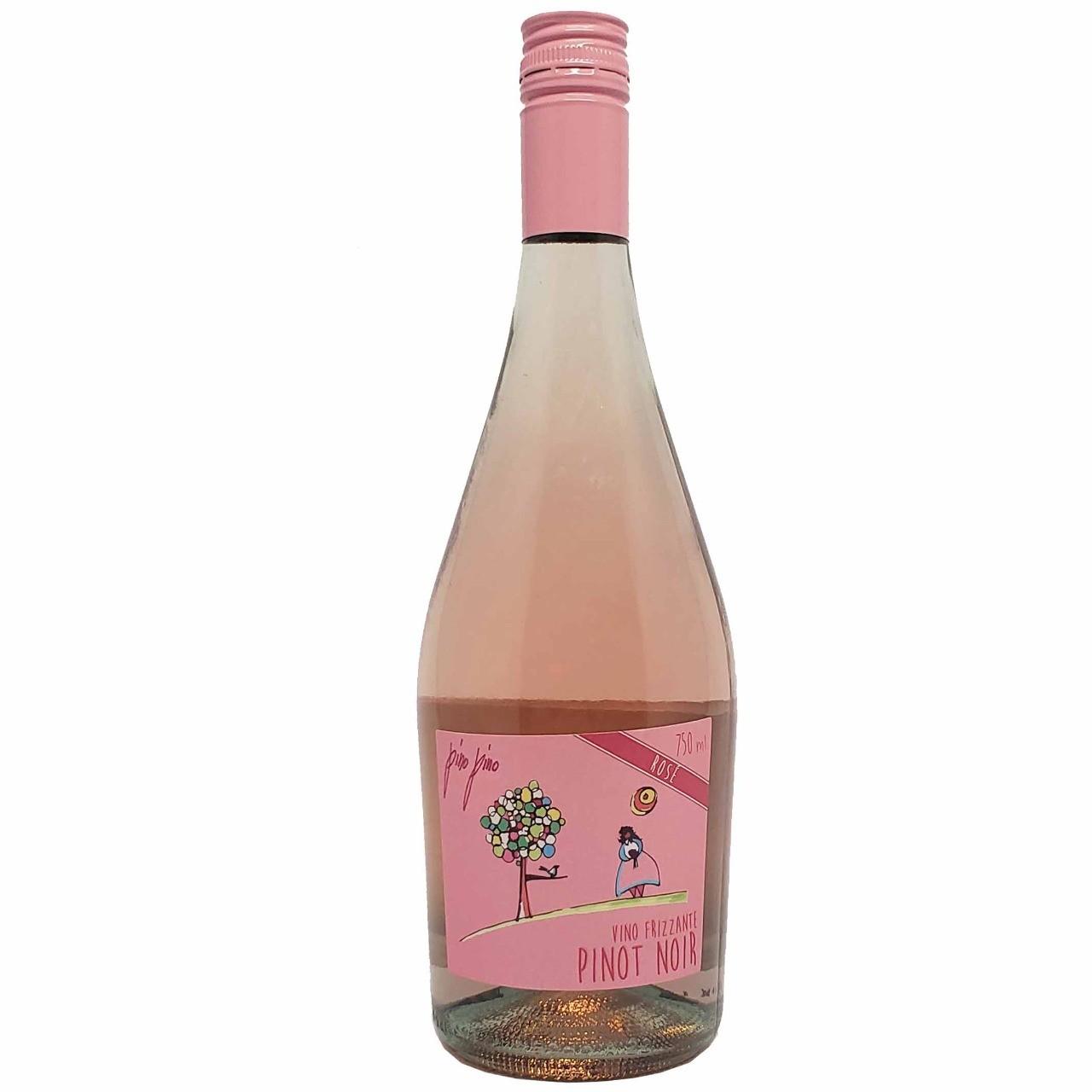 Vinho Frisante Rosé Pino Pino Pinot Noir  - 750ml -