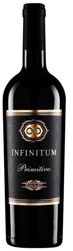 Vinho Tinto Infinitum Primitivo Puglia IGT - 750ml -