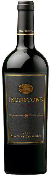 Vinho Ironstone Reserve Old Vine Zinfandel - 750ml -