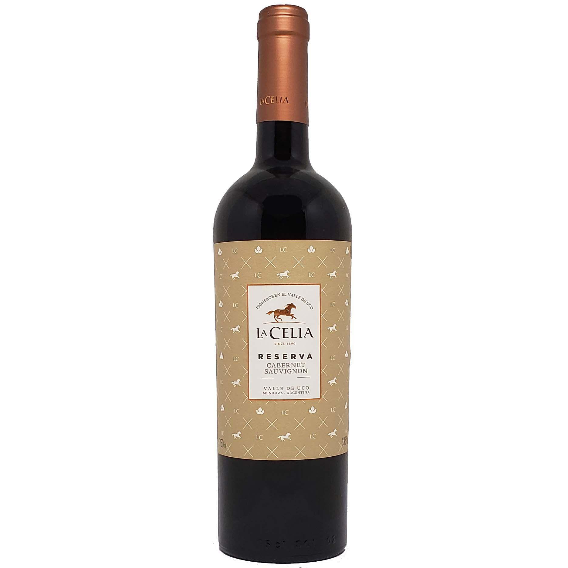 Vinho Tinto La Celia Reserva Cabernet Sauvignon - 750ml -