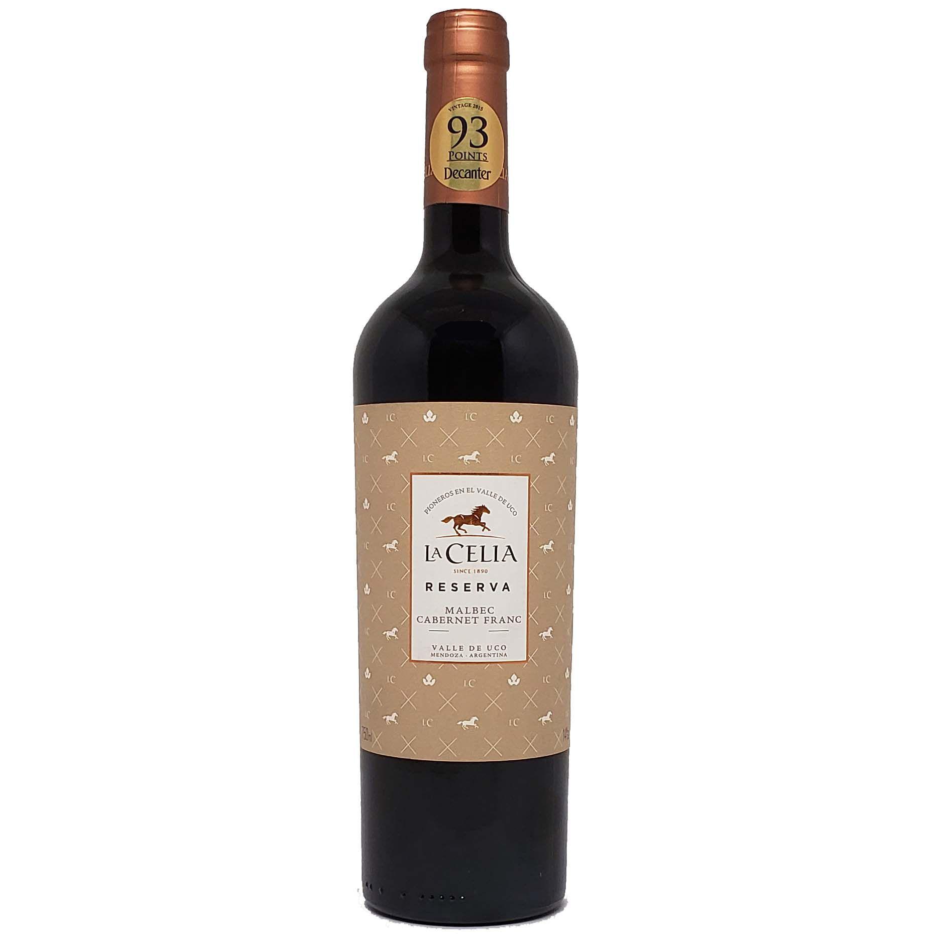 Vinho Tinto La Celia Reserva Malbec Cabernet Franc - 750ml -