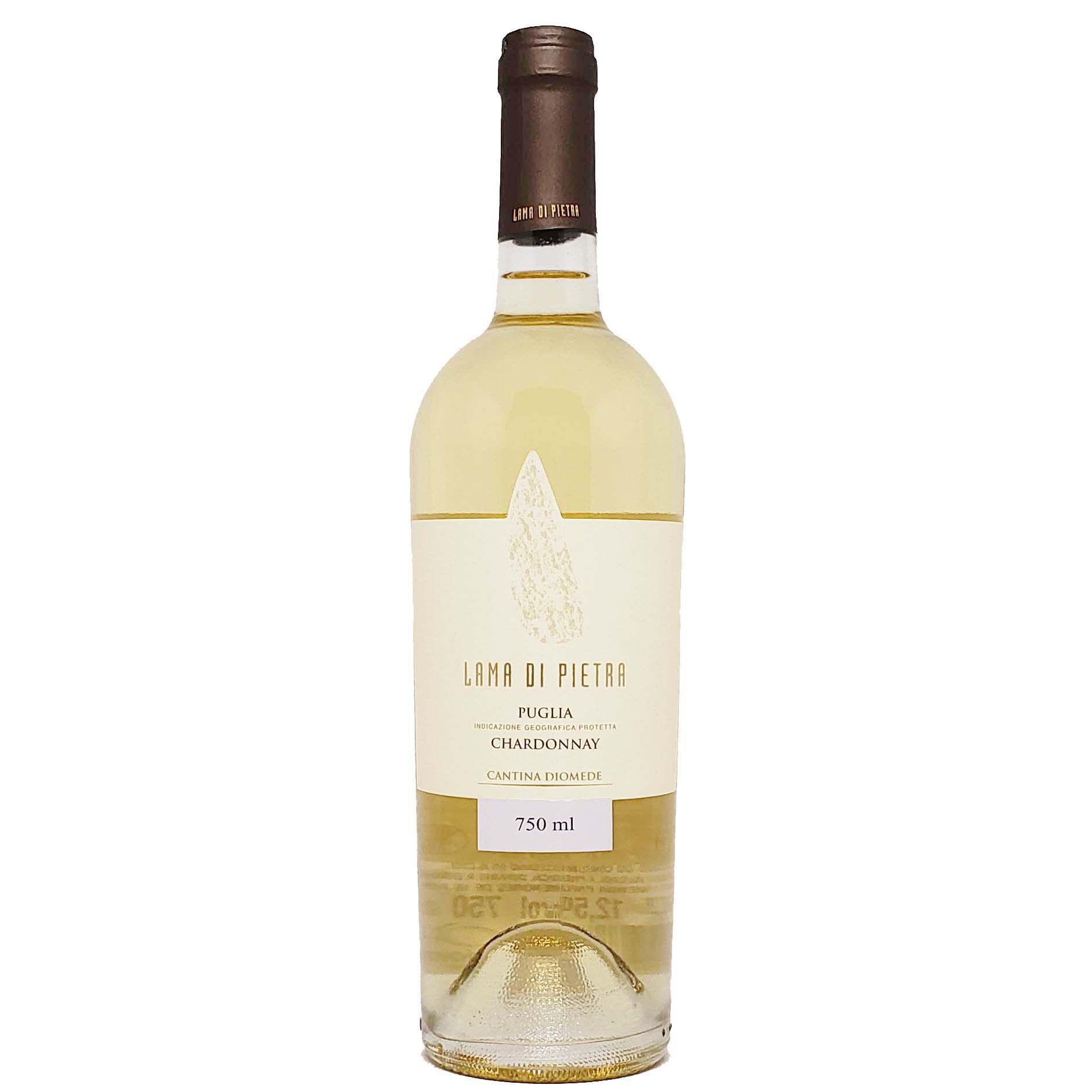 Vinho Branco Lama Di Pietra Chardonnay Puglia IGP - 750ml -
