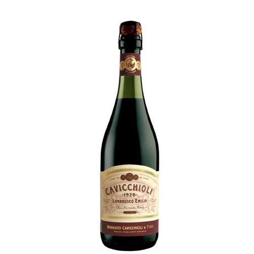 Vinho Lambrusco Tinto Cavicchioli Dell Emilia  - 750ml -