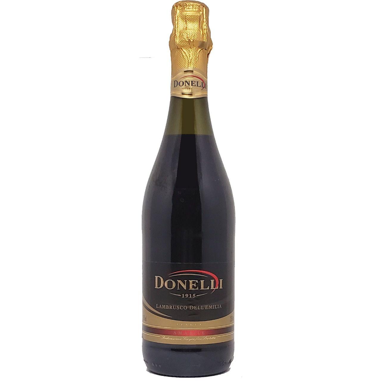 Vinho Frisante Lambrusco Tinto Dell'Emilia Donelli  -750ml -
