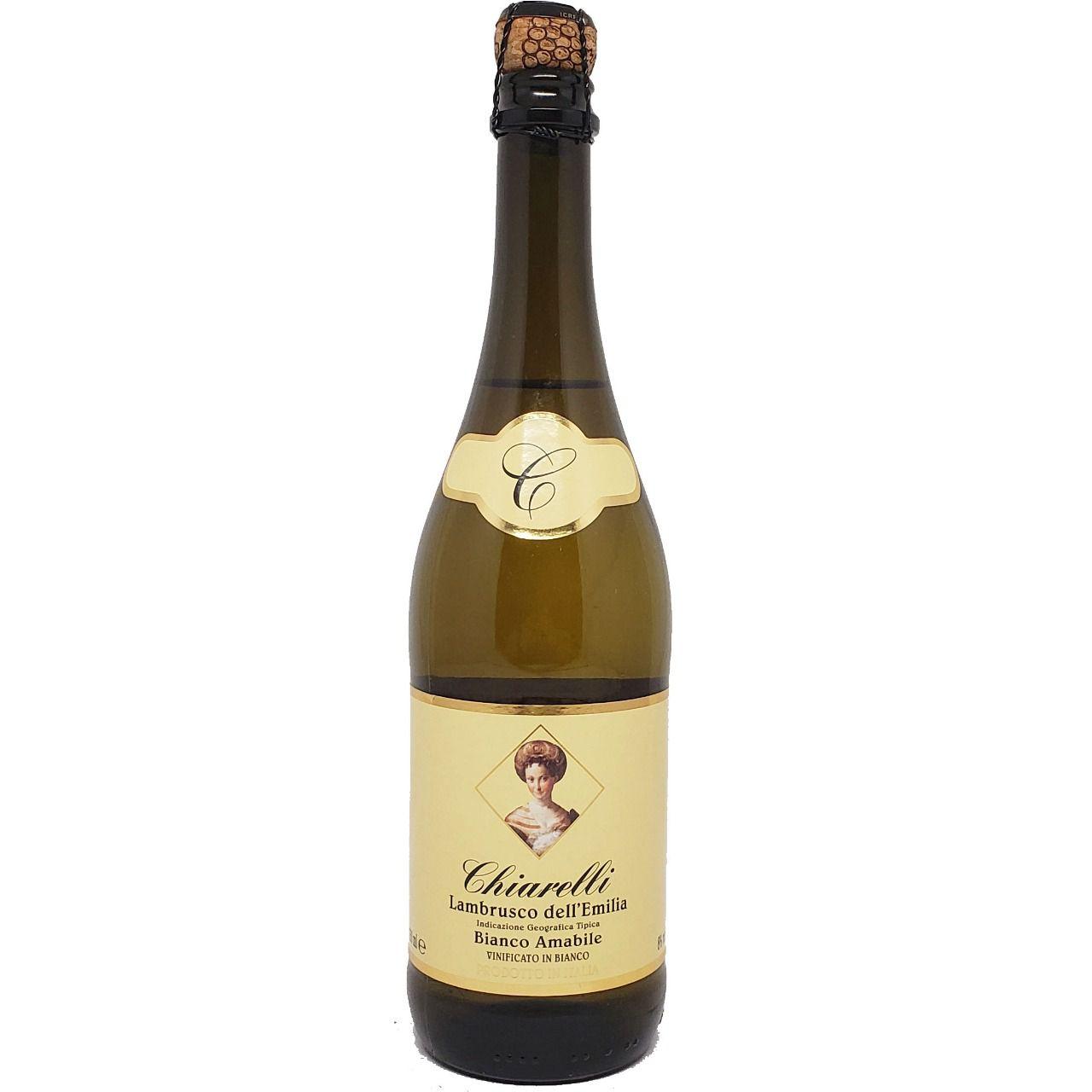 Vinho Frisante Lambrusco Branco Dell´Emilia Chiarelli - 750ml -