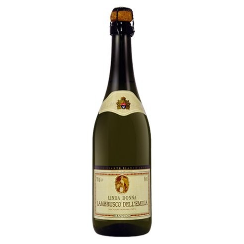 Vinho Frisante Lambrusco Linda Donna Branco 750 ml