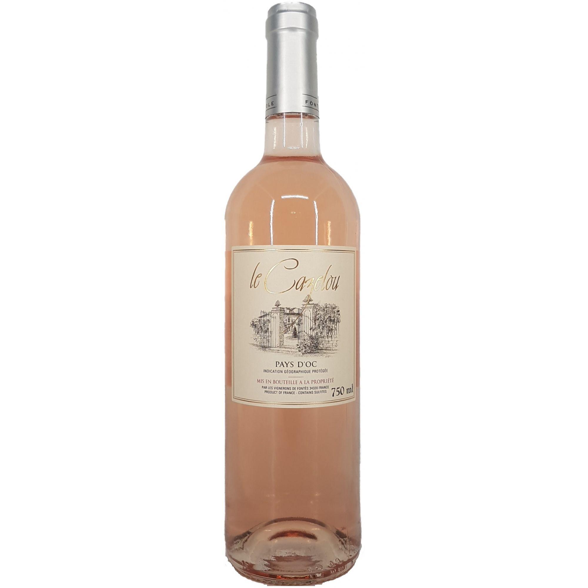 Vinho Rosé Le Cazelou PAYS D´OC - 750ml -