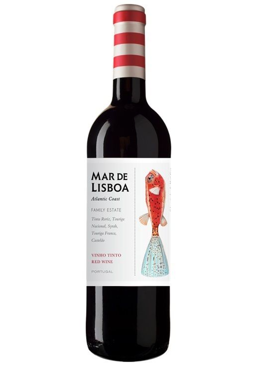 Vinho Tinto Mar de Lisboa - 750ml -
