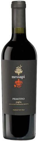 Vinho Tinto Messapi Primitivo Puglia IGP  - 750ml -