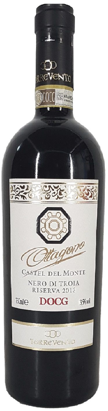 Vinho Tinto Ottagono Nero di Troia Riserva - 750ml -