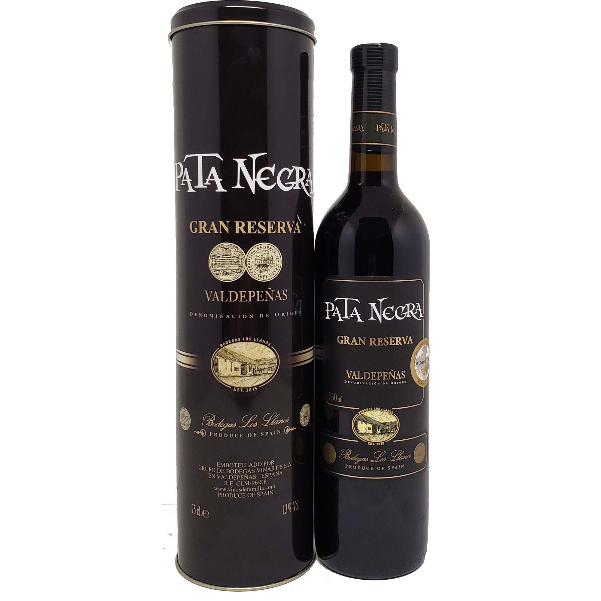 Vinho Pata Negra Gran Reserva 750ml C/ Lata