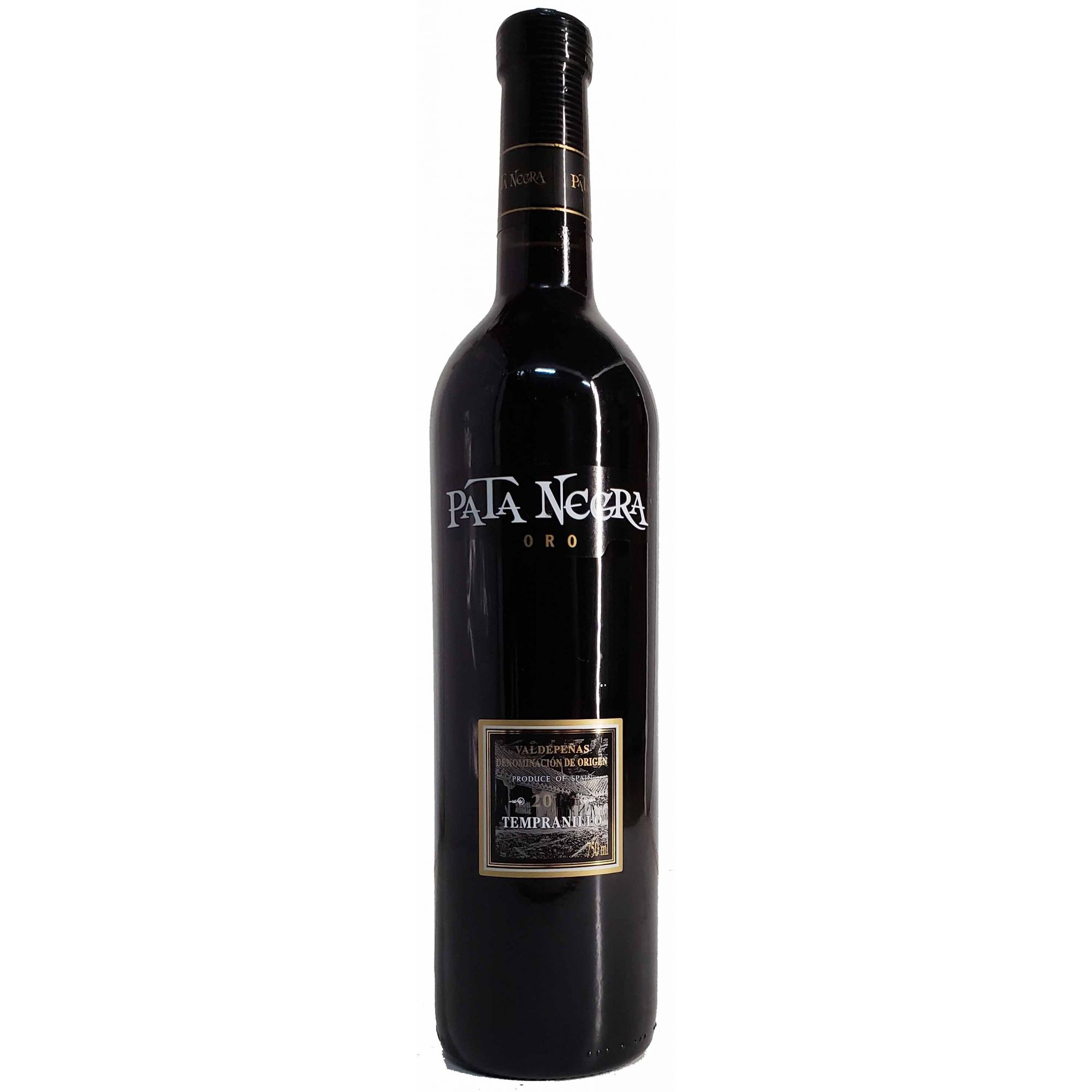 Vinho Tinto Pata Negra Oro Tempranillo Valdepenas DO - 750ml -