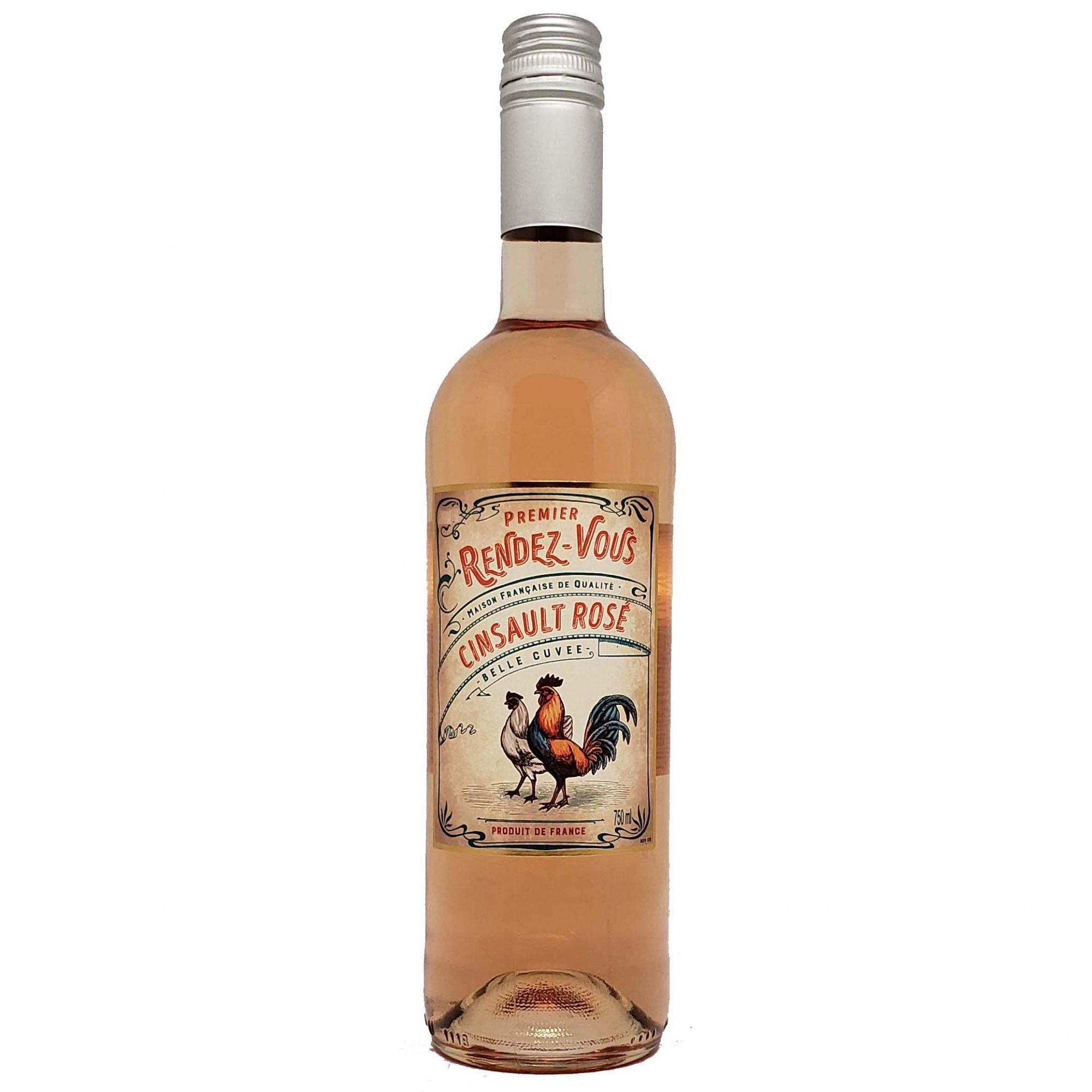 Vinho Rosé Premier Rendez-Vous - 750ml -