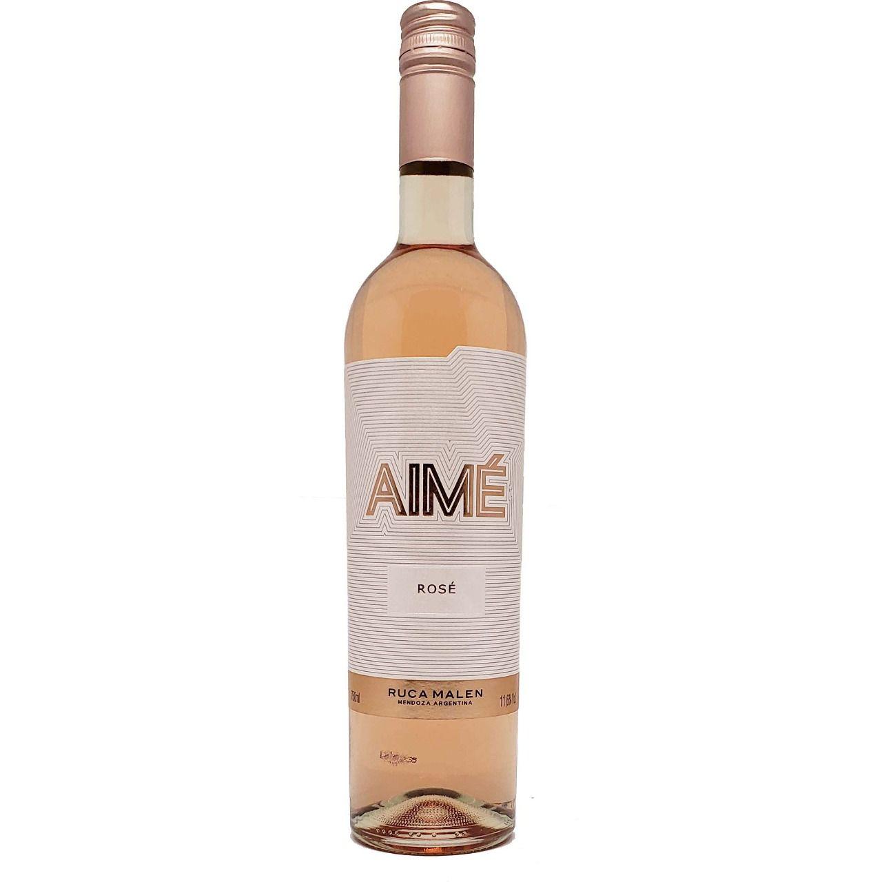 Vinho Rosé Aimé Ruca Malen - 750ml -