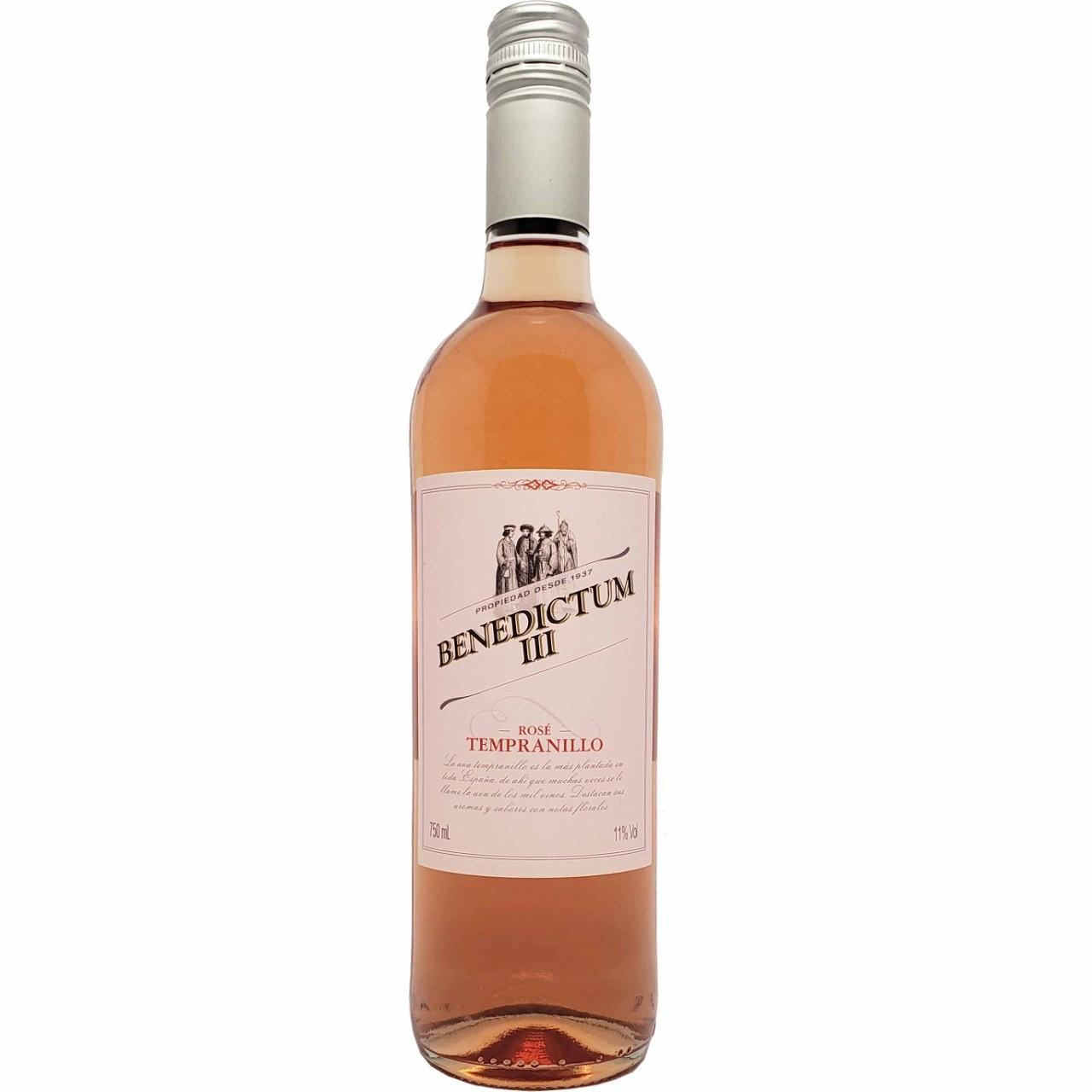 Vinho Rosé Benedictum III Tempranillo - 750ml -