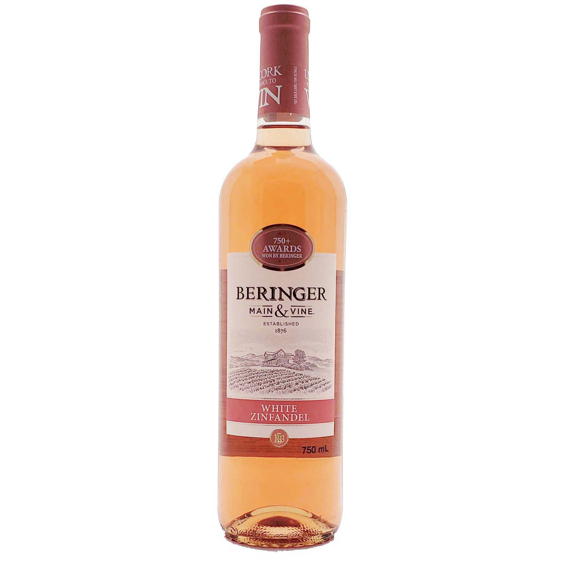 Vinho Rosé Beringer White Zinfandel - 750ml -