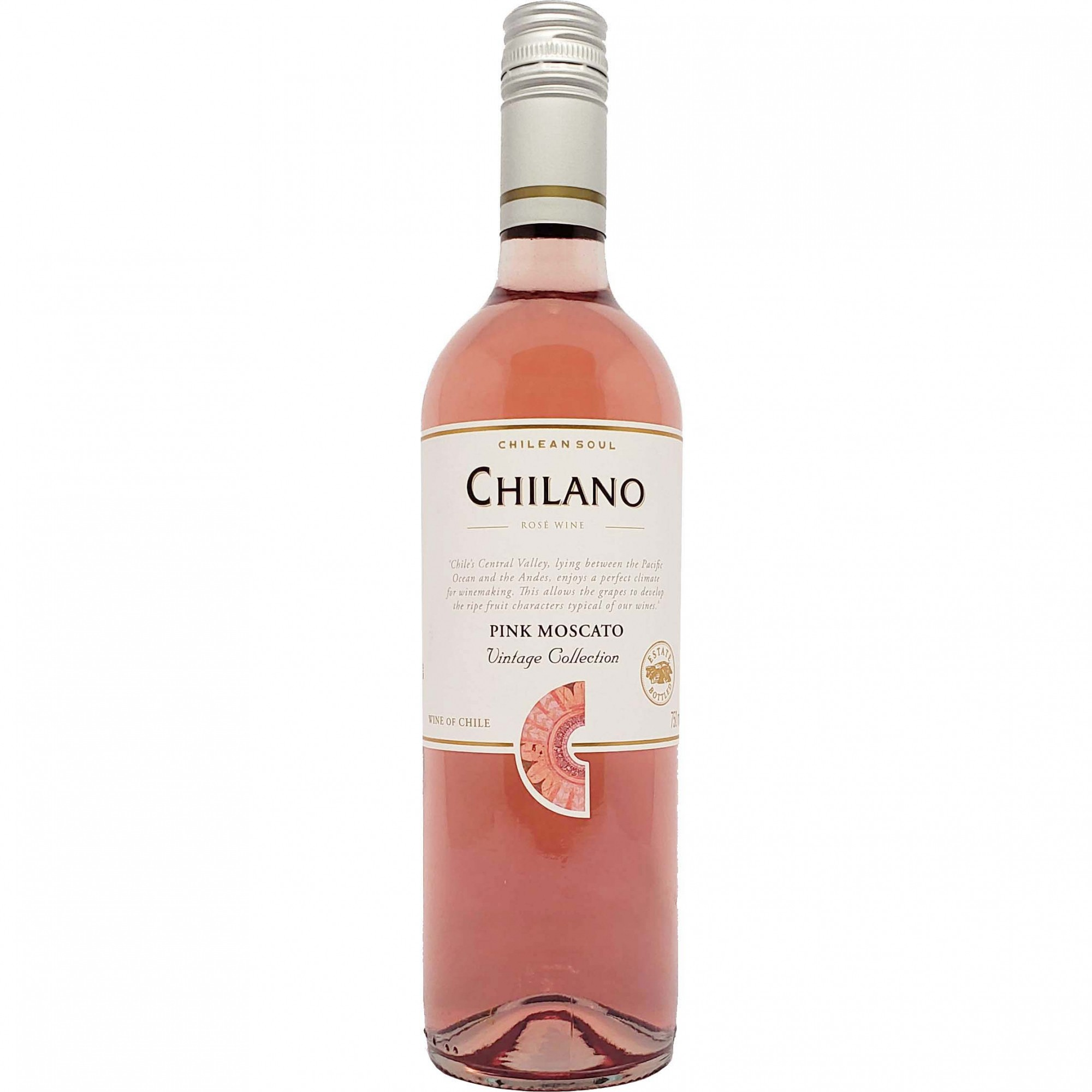 Vinho Rosé Chilano Pink Moscato Vintage Colletion - 750ml -