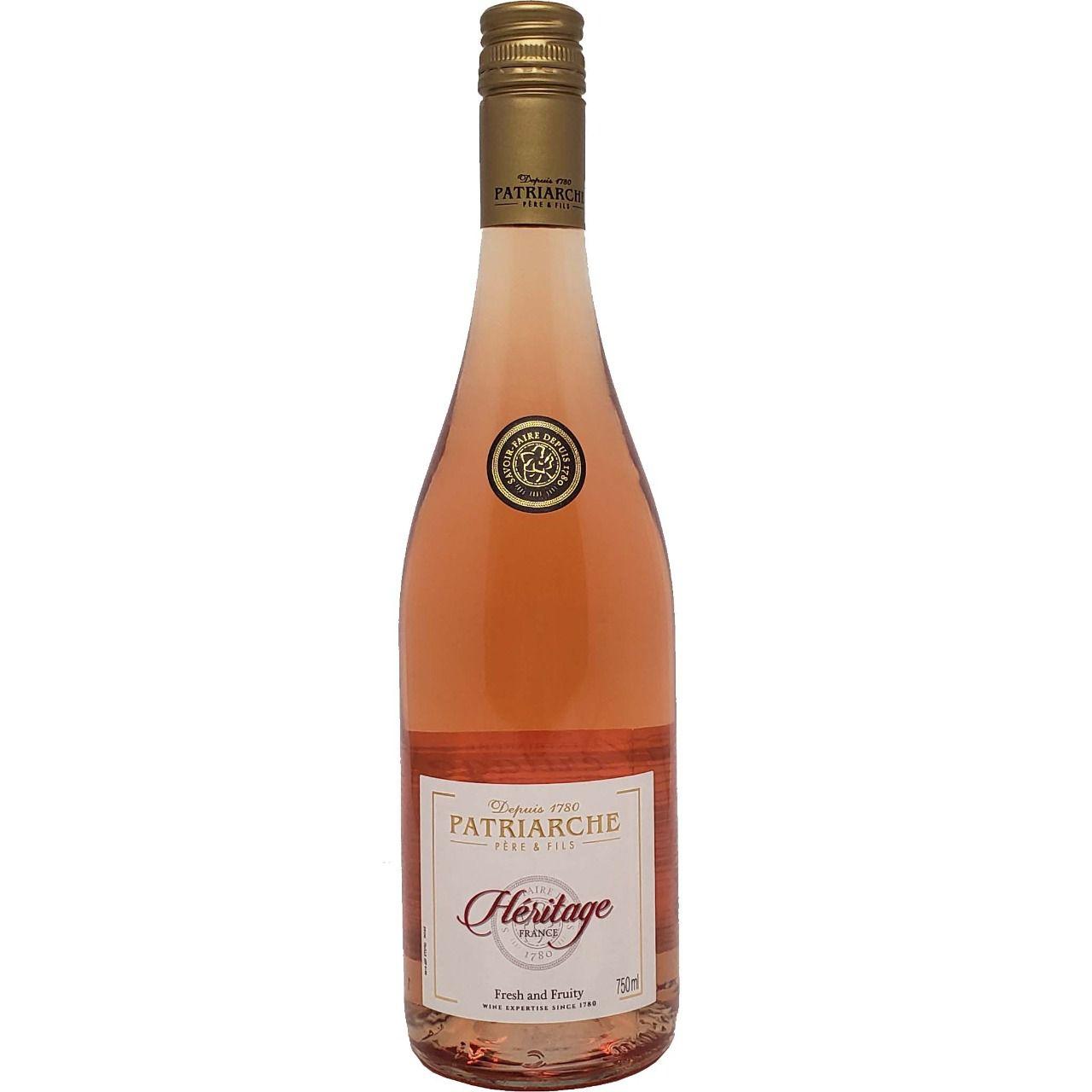 Vinho Rosé Héritage Patriarche -750ml -