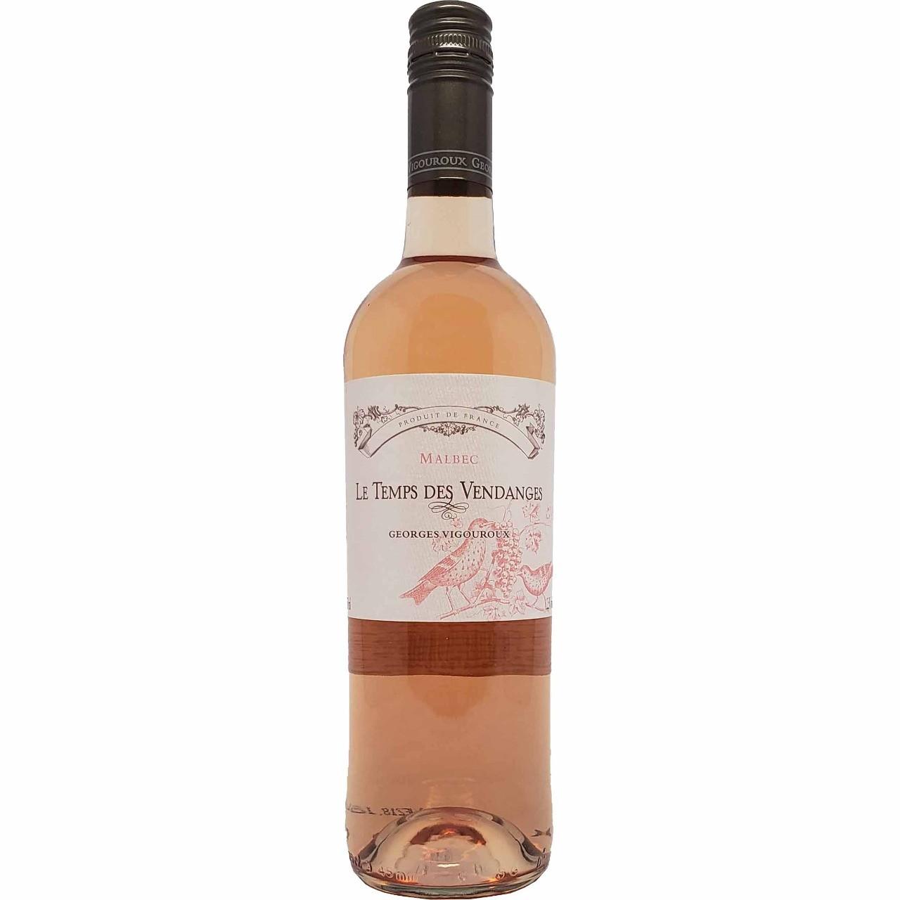 Vinho Rosé Le Temps Des Vendanges Georges Vigouroux - 750ml -