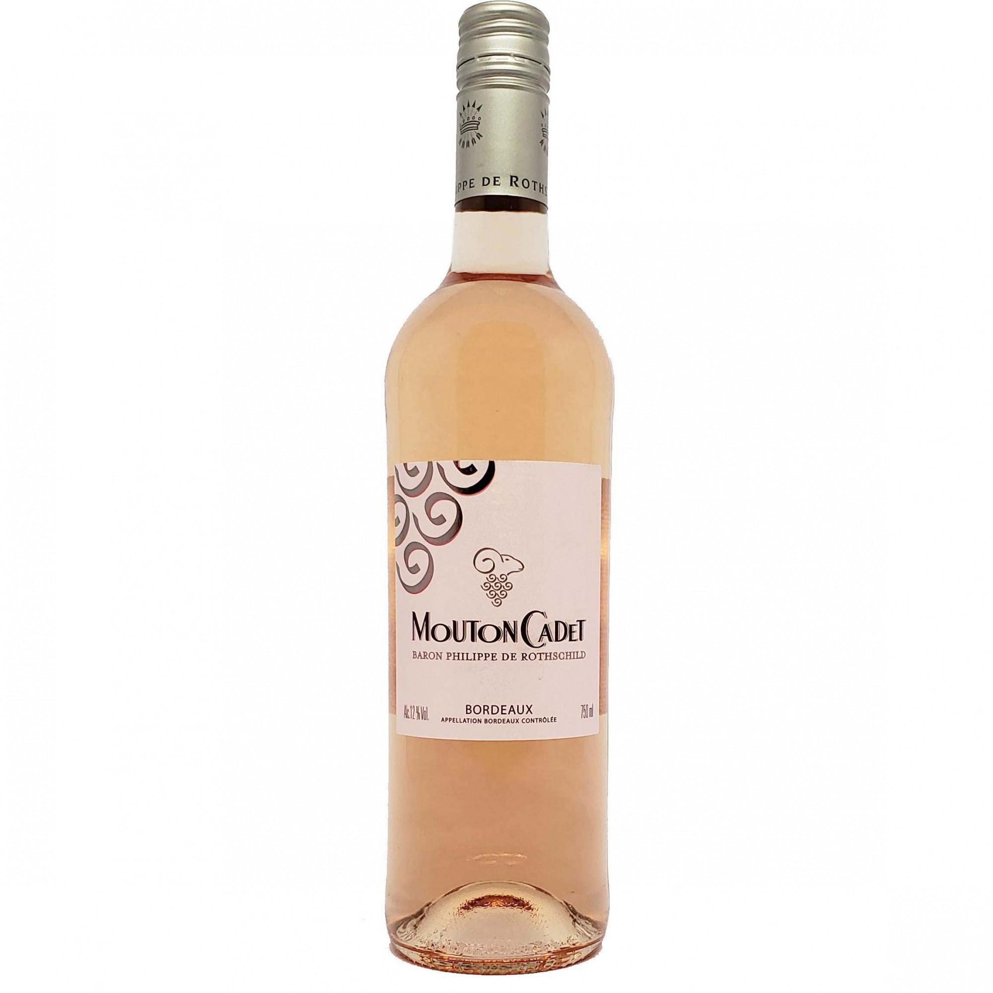 Vinho Rosé Mouton Cadet Bordeaux - 750ml -