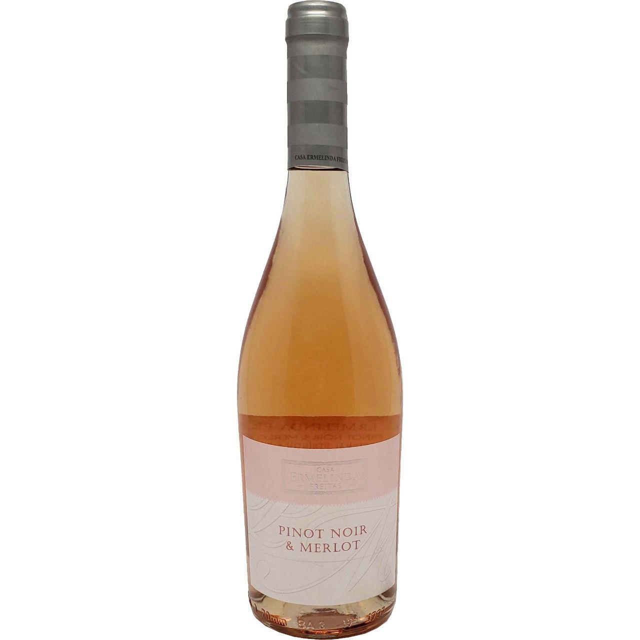 Vinho Rosé Pinot Noir & Merlot Casa Ermelinda Freitas - 750ml -