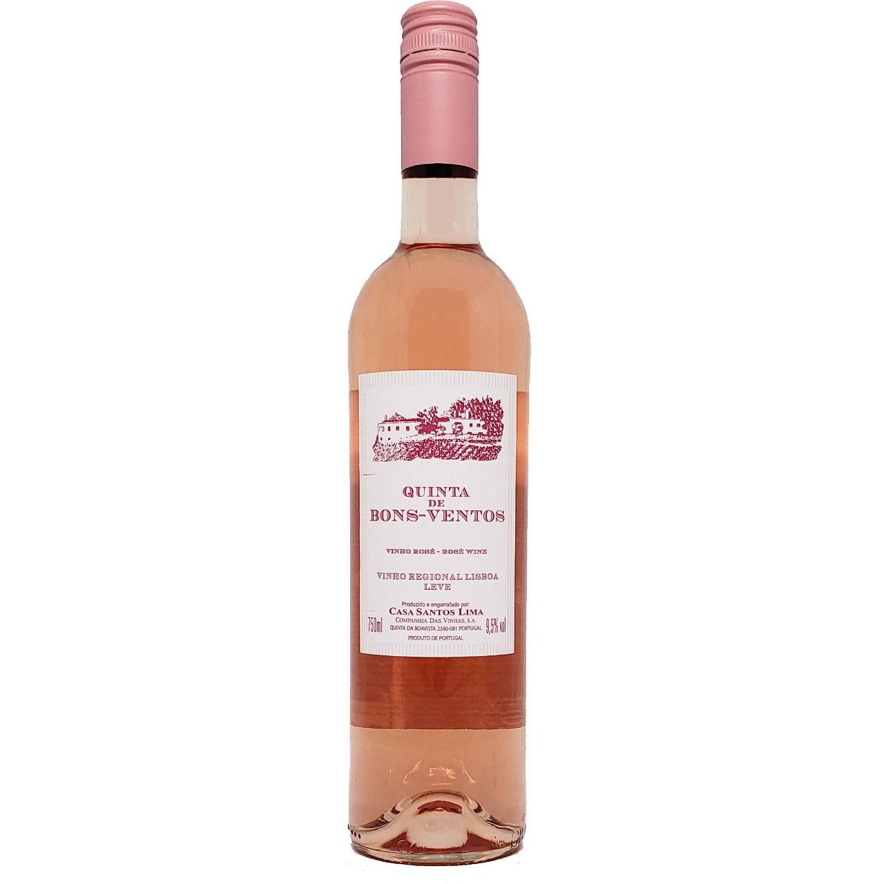 Vinho Rosé Quinta de Bons-Ventos - 750ml -
