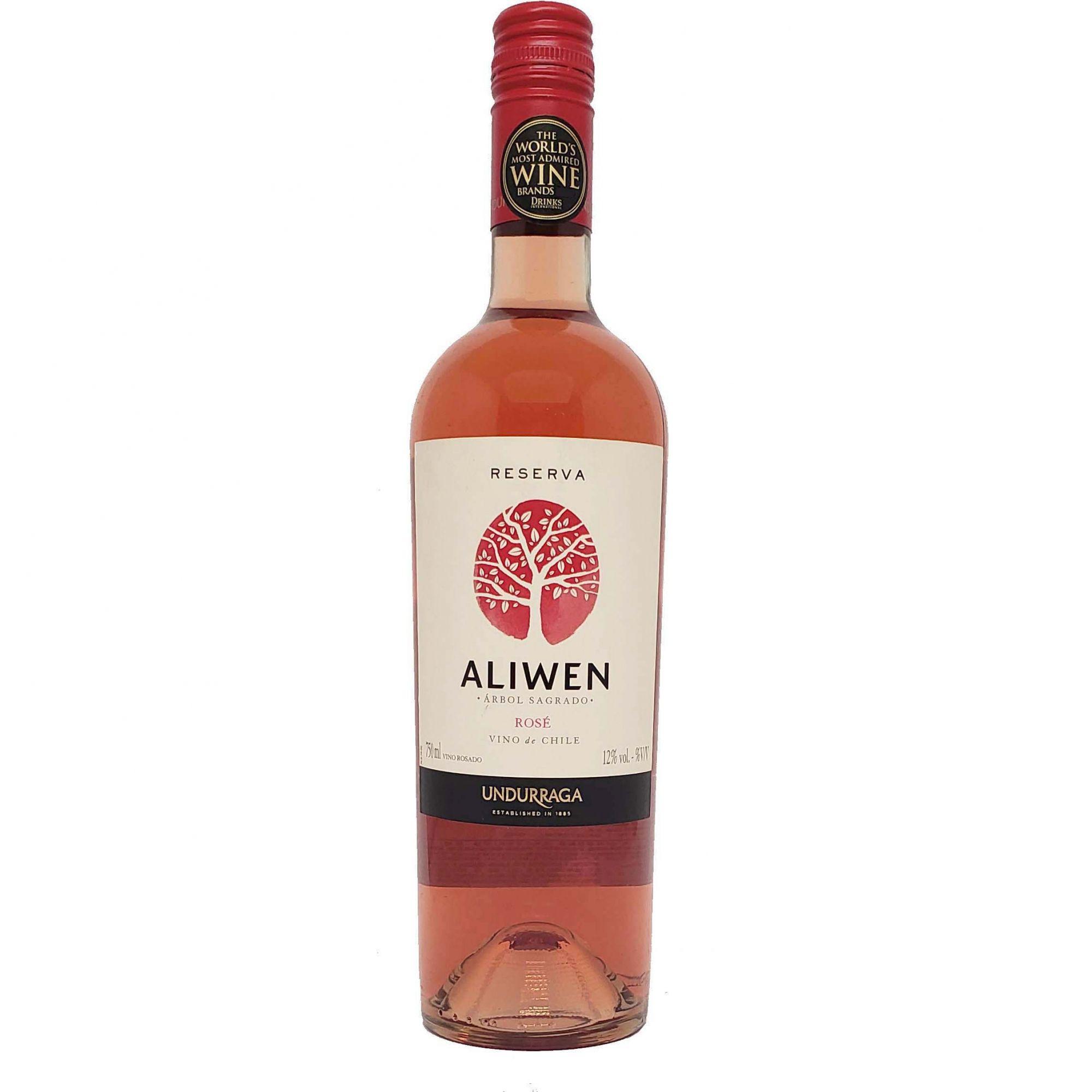 Vinho Rosé Aliwen Reserva Undurraga  - 750ml -