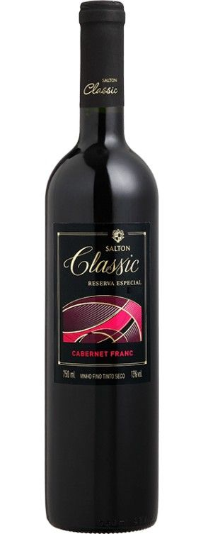 Vinho Tinto Salton Classic Cabernet Franc Reserva Especial - 750ml -