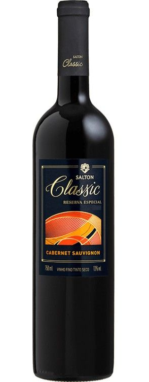 Vinho Tinto Salton Classic Cabernet Sauvignon Reserva Especial - 750ml -