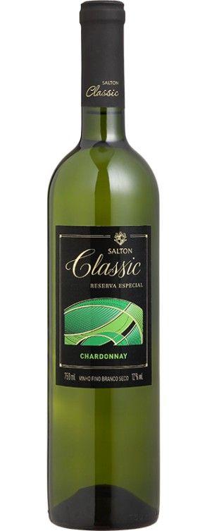 Vinho Salton Classic Chardonnay - Reserva Especial - Branco - 750ml