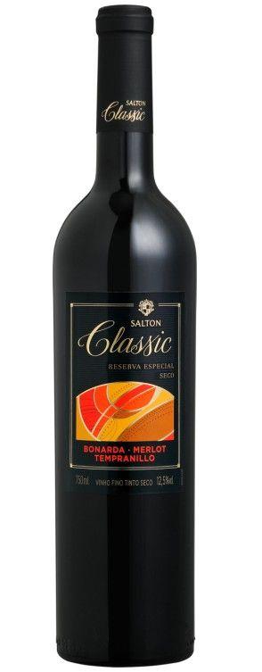 Vinho Tinto Salton Classic Trivarietal Seco Reserva Especial - 750ml -