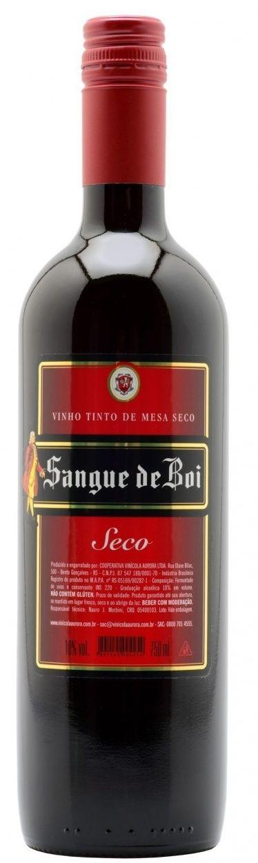 Vinho Tinto Sangue de Boi Seco  - 750ml -