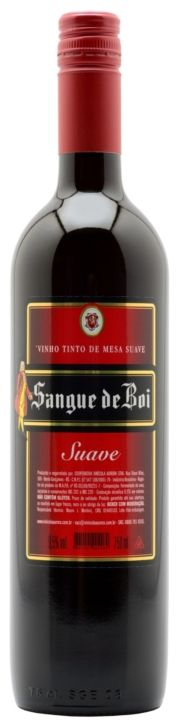 Vinho Tinto Sangue de Boi Suave - 750ml -