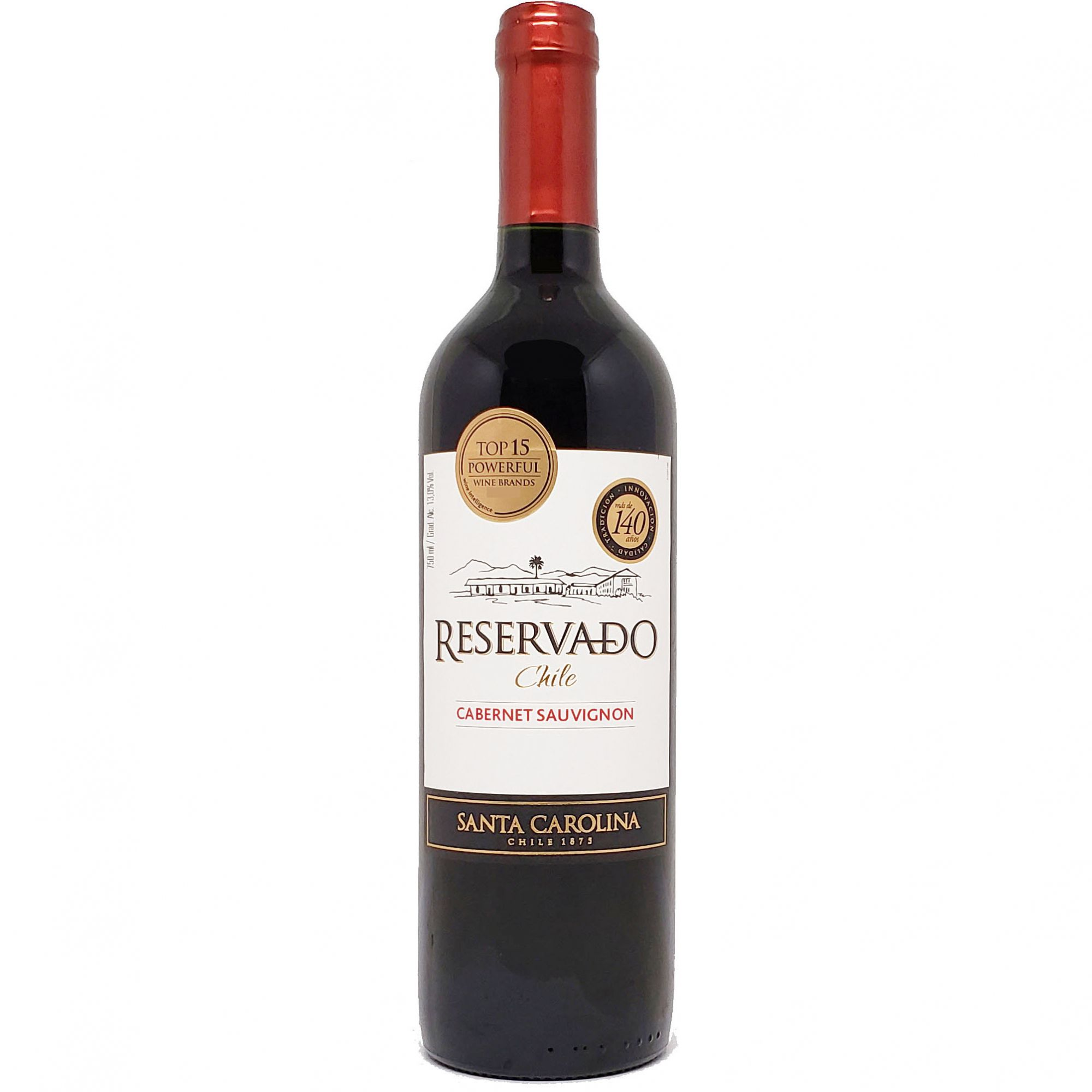 Vinho Santa Carolina Reservado Cabernet Sauvignon Chile - 750ml -