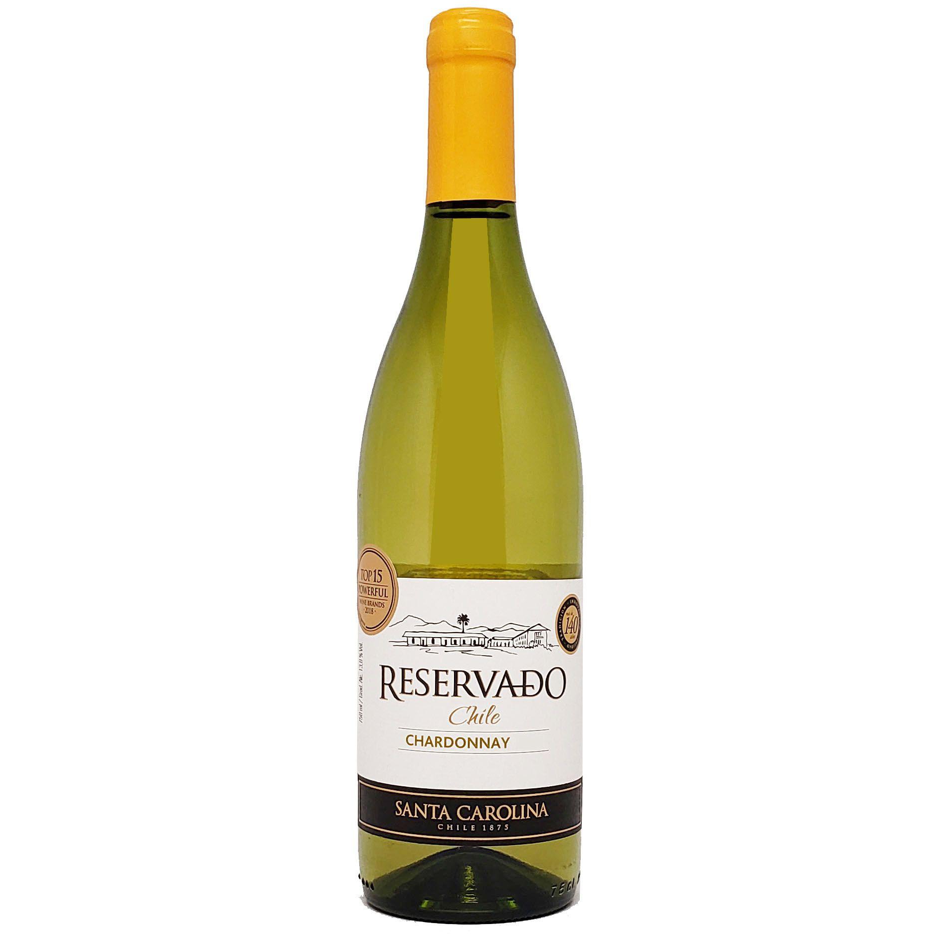 Vinho Branco Santa Carolina Reservado Chardonnay - 750ml -