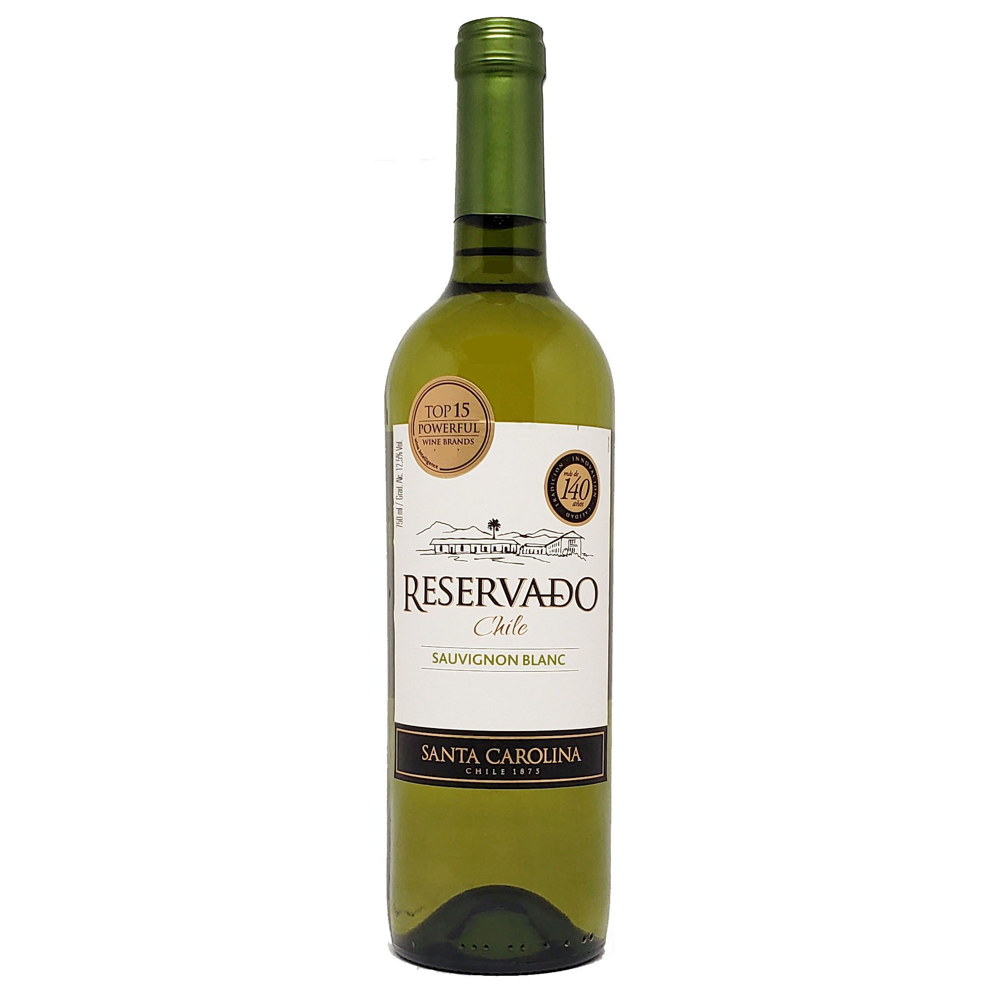 Vinho Santa Carolina Reservado Sauvignon Blanc Chile - 750ml -