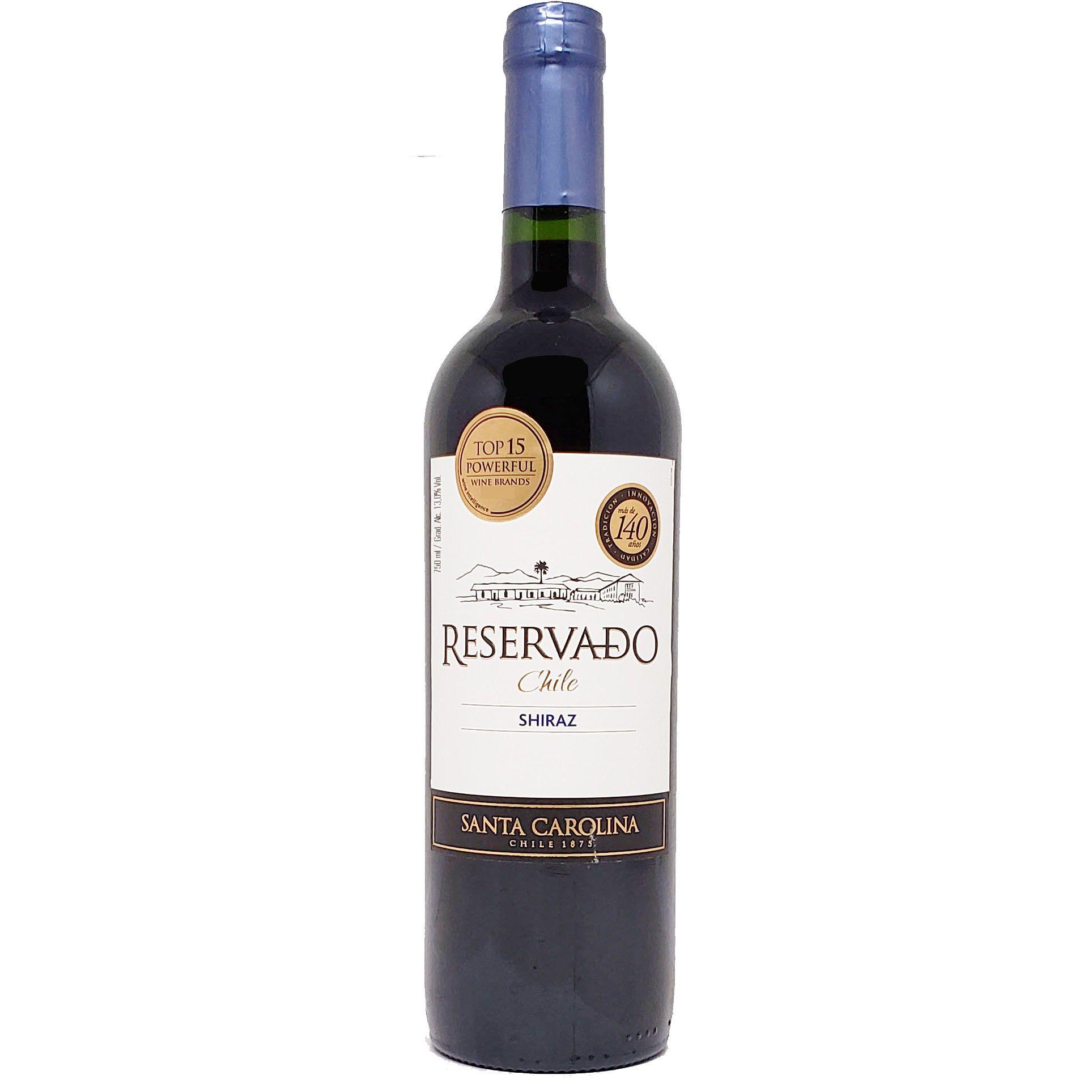 Vinho Tinto Reservado Shiraz Santa Carolina - 750ml -