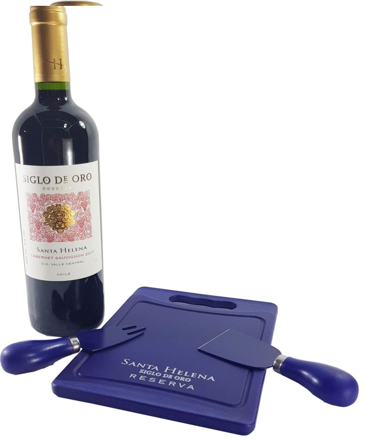Vinho Tinto Santa Helena Siglo De Oro Reserva Cabernet Sauvignon 750ml + Brinde