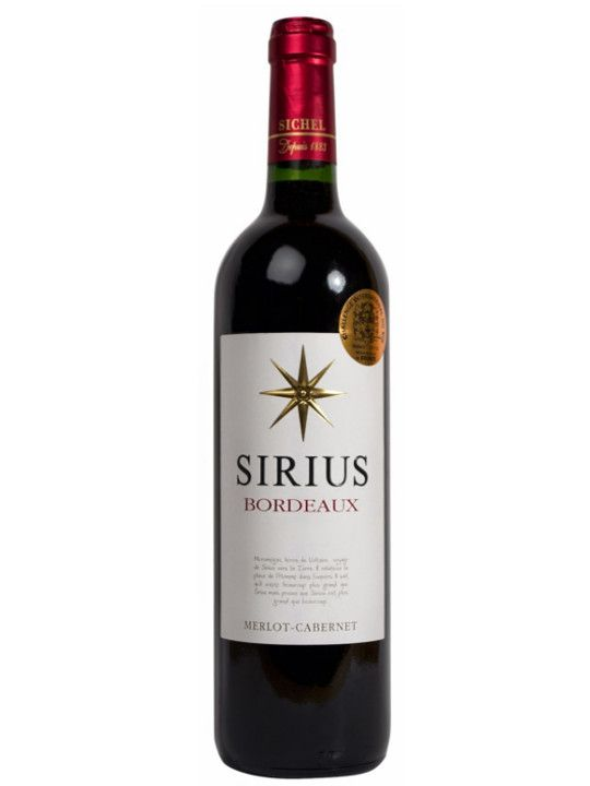 Vinho Tinto  Sirius Bordeaux - 750ml -