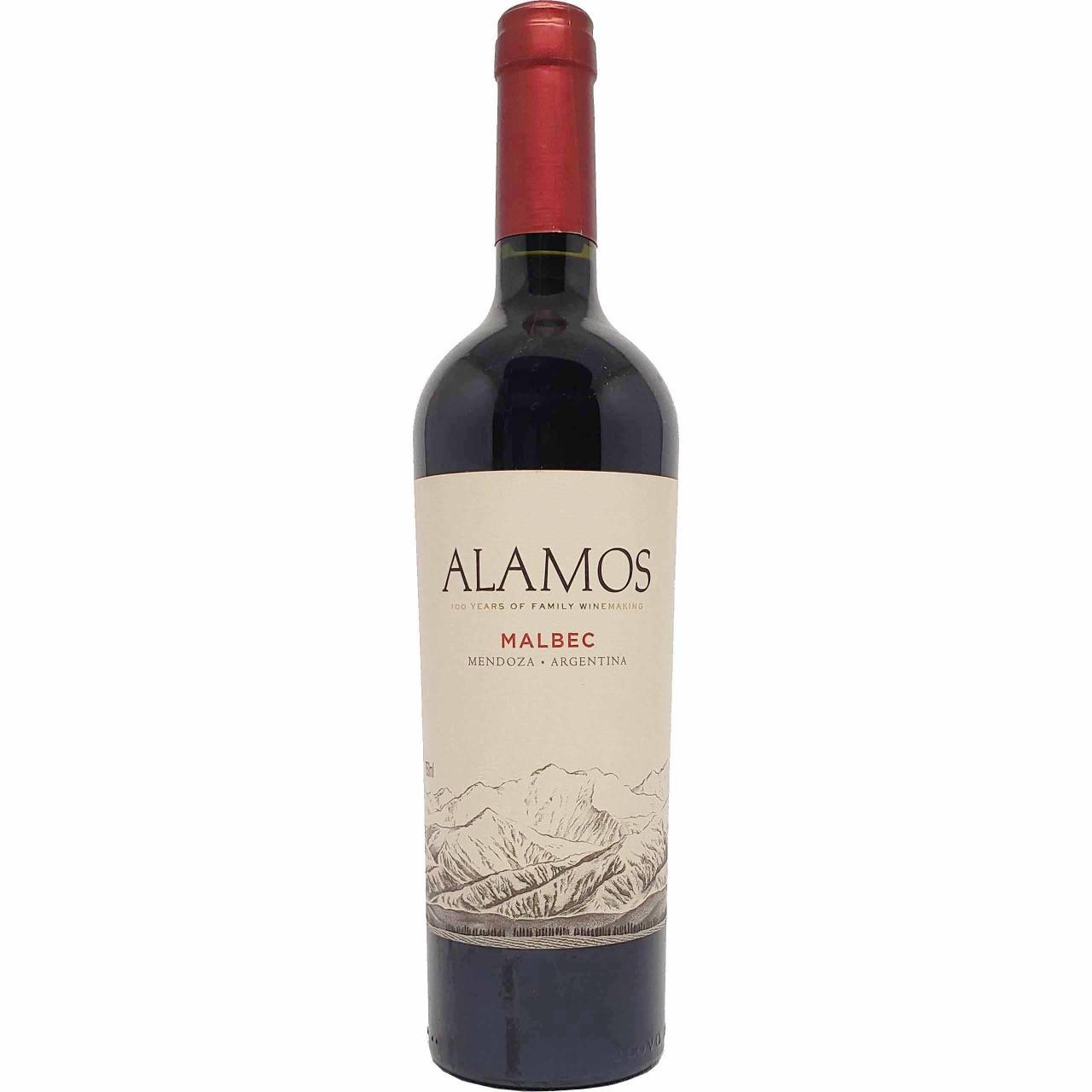 Vinho Tinto Alamos Malbec - 750ml -