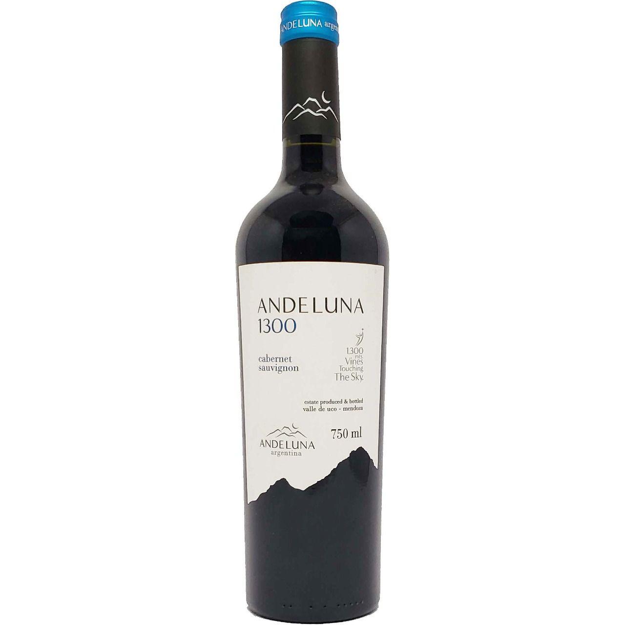 Vinho Tinto Andeluna 1300 Cabernet Sauvignon - 750ml -