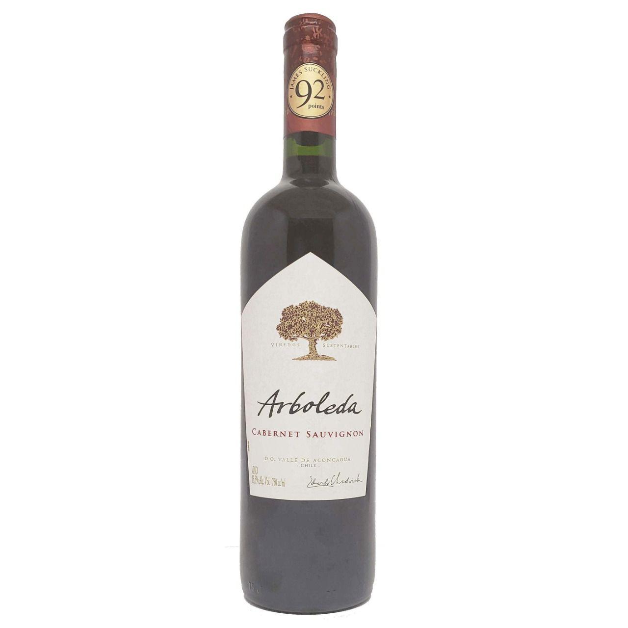 Vinho Tinto Arboleda Cabernet Sauvignon - 750ml -