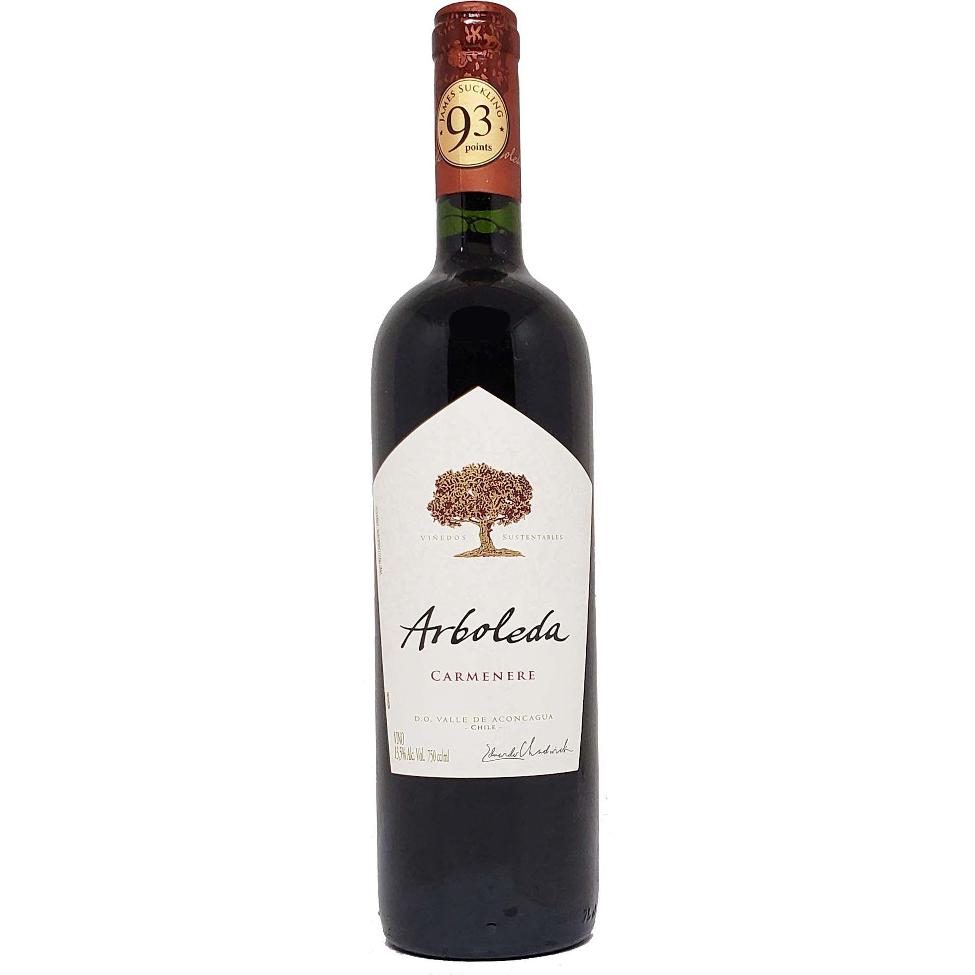 Vinho Tinto Arboleda Carménère - 750ml -