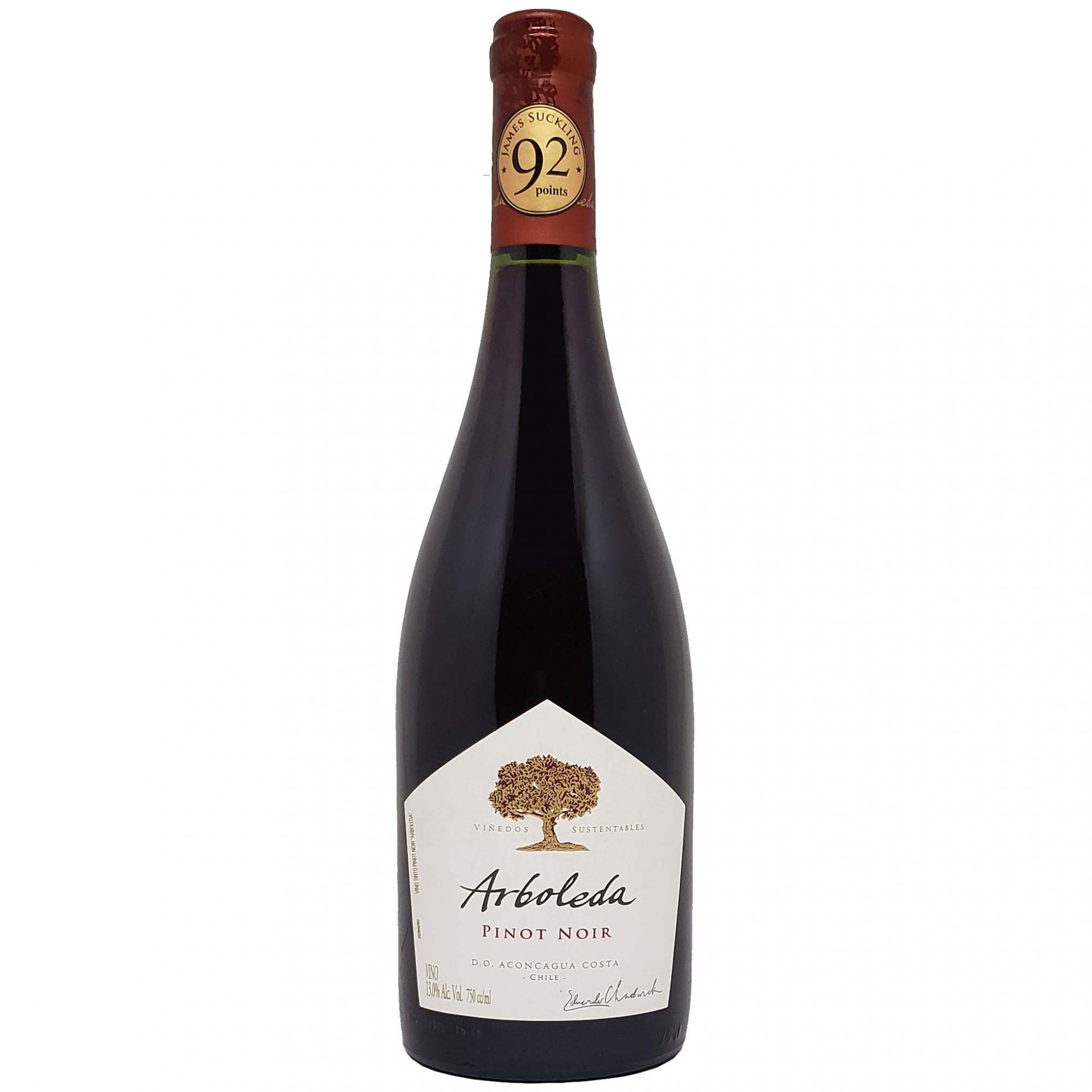 Vinho Tinto Arboleda Pinot Noir - 750ml -