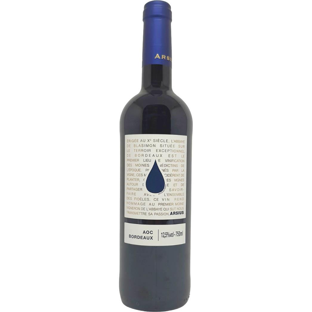 Vinho Tinto Arsius Bordeaux - 750ml -