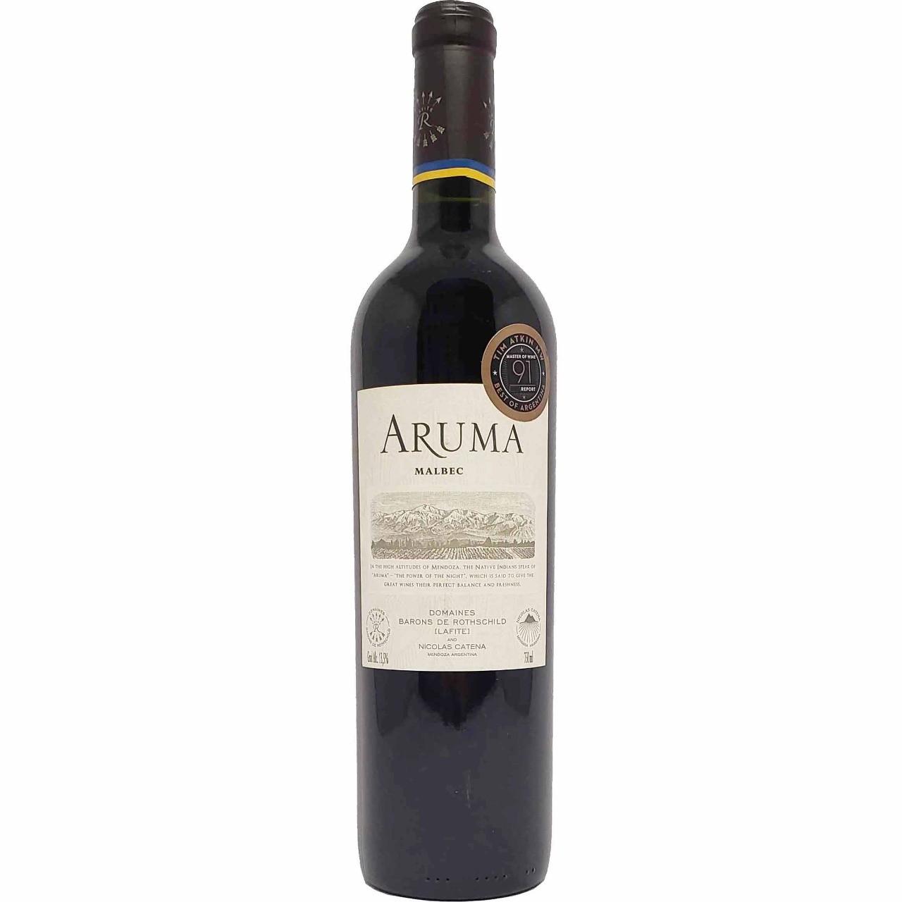 Vinho Tinto Aruma Malbec - 750ml -